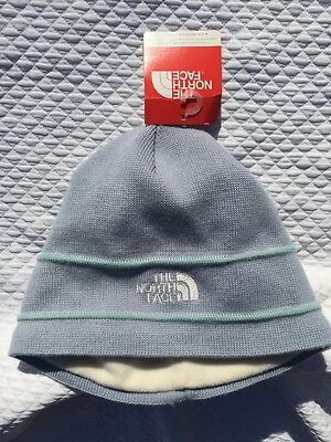 2ac0dfa5d7a THE NORTH FACE LOGO BEANIE TNF Jewel Blue New YOUTH Unisex One Size NWT