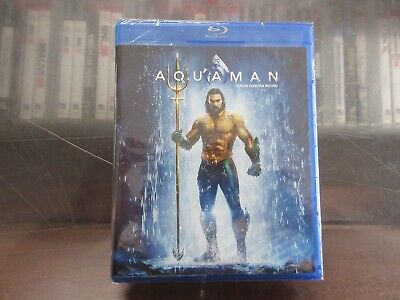 BRAND NEW Aquaman [Blu-Ray + DVD + Digital]
