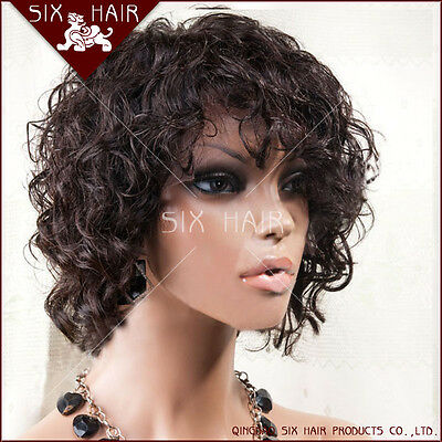 NEW WOMENS ASHRO BLACK WITH AUBURN HIGHLIGHTS YNEZ LACE FRONT WIG SIZE LARGE