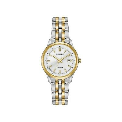 Citizen Eco-Drive EW2404-57A Silver/Two-Tone Analog Women's Watch