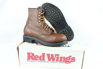 e00bcf2c3a352 VTG NEW RED Wing Shoes Mens 12 EE Postman Oxford Steel Toe Leather ...