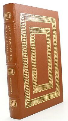 The History of the Peloponnesian War By Thucydides Easton Press 1974 Leather vtg