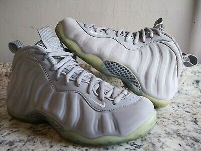 e5bd04461fee95 NIKE AIR FOAMPOSITE One 1 Suede Wolf Grey White 575420-007 Size 8 ...