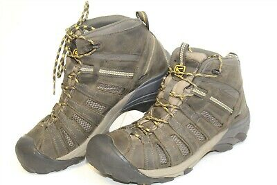 8d8cf74ced5 KEEN MENS 11 44.5 Voyageur Mid Hiking Trail Leather Ankle Boot 1008904
