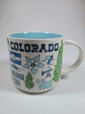 "Starbucks BTS ""Been There Series"" Coffee Cup Mug 14 oz - Colorado"