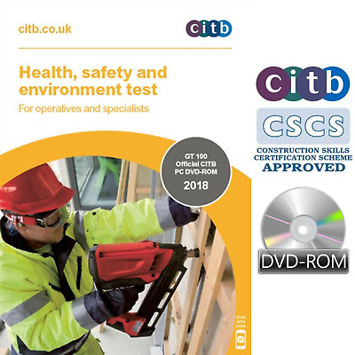 CSCS Card Test DVD 2018 Health and Safety for Operatives & Specialists All Q'&A'