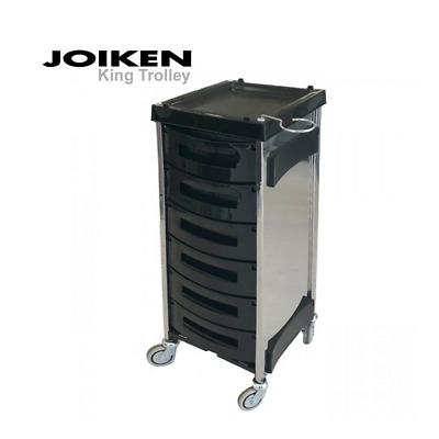 JOIKEN Professional KING Trolley 6 Pullout Trays - Tattoo & Hairdressing Salon