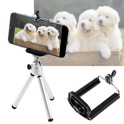 HOT Universal Mini Flexible Stand Tripod Mount + Free Holder For Smart Phone BE