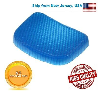 Egg Sitting Gel Soft Breathable Honeycomb Seat Pillow pad seat gel flex Cushion