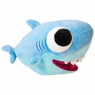 Shark 25cm Plush Stuffed Animal Toy Soft Doll Kids Adventure Blue Ocean Gift