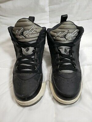 newest collection cb188 ac80f NIKE AIR JORDAN Flight 9.5 Men's Black/White/Grey Sneakers Sz 10 -  654262-003