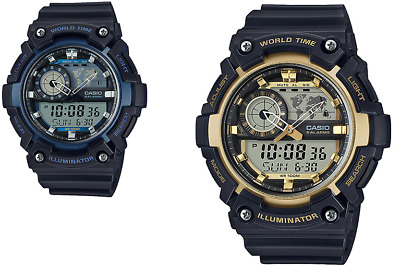 2272481a06bb CASIO COLLECTION RELOJ de Hombre Base Ana Digi Azul AEQ-110W-2AVEF ...