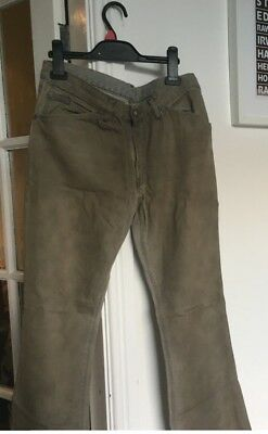 Designer Ladies Calvin Klein Jeans Size 31 Faded Grey Bootleg Style