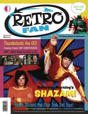 Retro Fan #4 (Twomorrows Magazines) Spring 2019