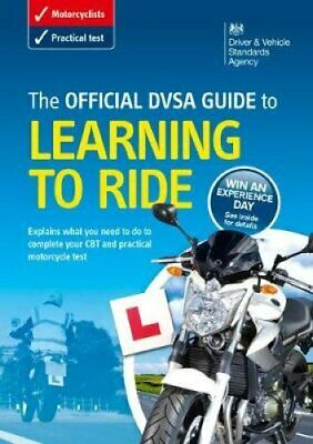 The official DVSA guide to learning to ride 9780115532542 | Brand New
