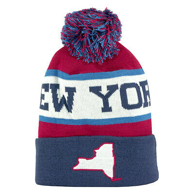 064b31d6a0d CIRQUE NEW YORK Grand Beanie Red White Blue -  11.99