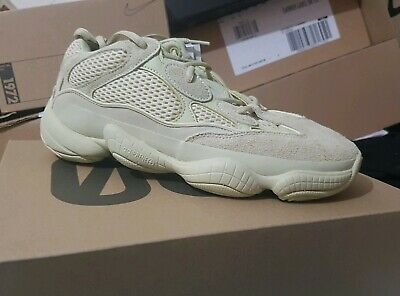 hot sale online 67d87 c9743 ADIDAS YEEZY BOOST 500 - Supermoon yellow- BRAND NEW with box Size 7 UK.