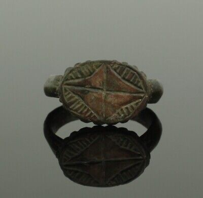 Ancient Roman Bronze Ring - Circa 2Nd Century Ad  033