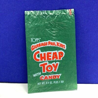 Garbage Pail Kids topps imperial wrapper only advertising gpk Cheap toy candy