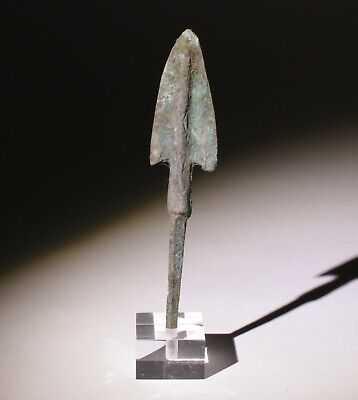 Museum Quality Luristan Bronze Age Arrowhead 1200-800Bc   0062