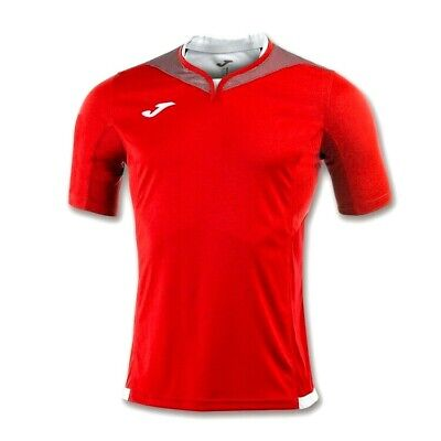 Joma Silver Football Shirt/jersey Red/white Adult Xl Bnwt Rrp £26.45