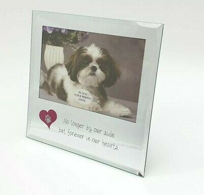 Loss of Pet Dog Bereavement Photo Picture Frame No Longer By Our Side