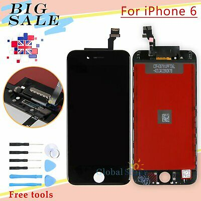 """For iPhone 6 4.7"""" LCD Touch Display Assembly Digitizer Screen Replacement Black"""