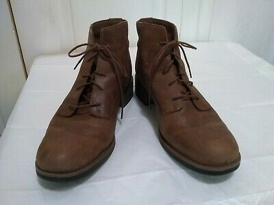 8439dbcd68f TIMBERLAND ORTHOLITE BECKWITH Brown Leather Ankle Side Zipper Boots ...