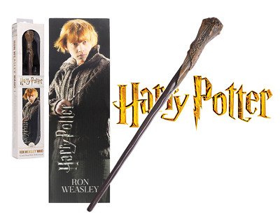 Harry Potter - Baguette Magique Ron Weasley - Noble Collection 30 cm - Neuf /