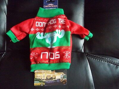 National Lampoon's Christmas Vacation Don't Hog the Nog Bottle Cover Koozie NEW