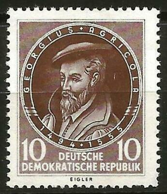 Germany (East) DDR GDR 1955 MNH 40th Anniv. Death Georg Agricola Mi-497 SG E240