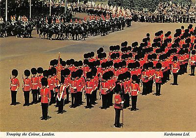 BR90414 TROOPING THE colour london military militaria uk