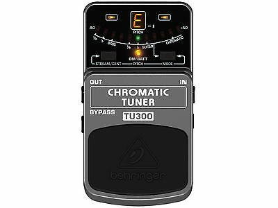 Behringer Tu300 Tuner Pedal for Guitar & Bass