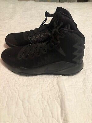 sneakers for cheap d2962 fe1e7 NIKE HYPERDUNK 2016 BASKETBALL SHOE New 844359 008 All Black MENS Size 11