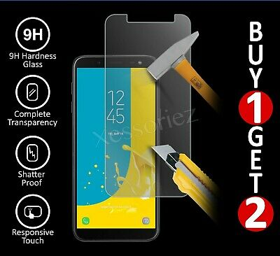 For Samsung Galaxy J4 J6 Plus J3 A6 Tempered Glass Mobile Phone Screen Protector