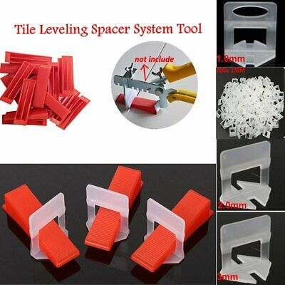 300pcs Tile Leveling Spacer System Construction Tool Spacer Clip Flooring Level