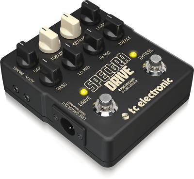 TC Electronic Spectradrive Wirkung Preamp und Drive A Pedal für Bass