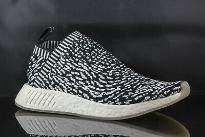 9a30738ad156b ADIDAS NMD CS2 PK Primeknit Glitch Black White Mens Size 9.5 DS NEW ...