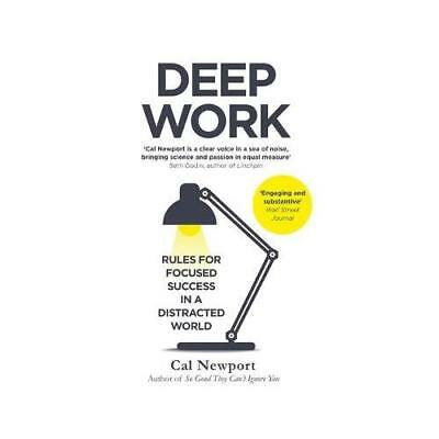 Deep Work by Cal Newport (author)