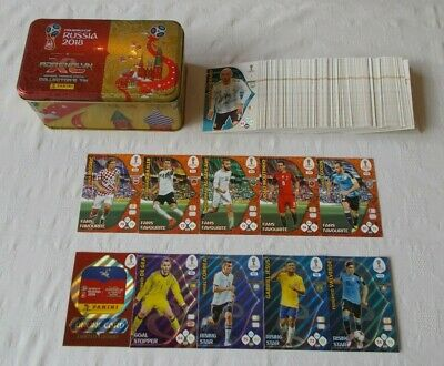 Adrenalyn XL - FIFA World Cup Russia 2018 = Bundle 150 Cards + Classic Tin (B5)
