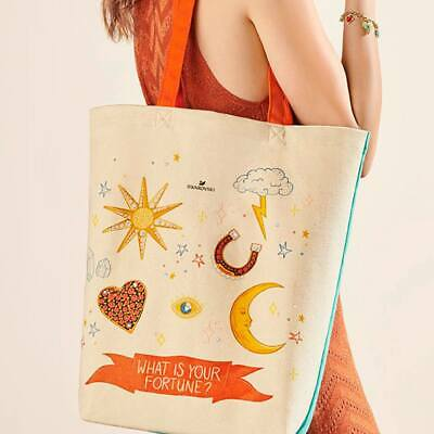 What's Your Fortune Fabric Tote Bag 2019 Promotion Gwp Swarovski Crystal 5493058