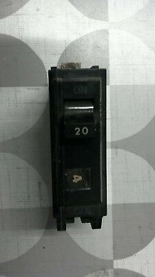 General Electric (GE) TQB1120 1 Pole 20A Bolt-On Breaker **Free Shipping**