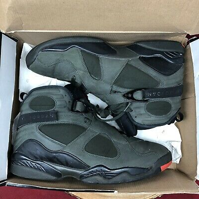 a98f8fc4ee671c Air Jordan 8 Retro Take Flight Sz 12 Sequoia Olive Undefeated 305381-305  Playoff