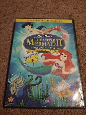 Disney The Little Mermaid 2, ll, return to the Sea special edition DVD