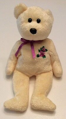 TY Beanie Baby Mother The Bear For Mother's Day No Hang Tag