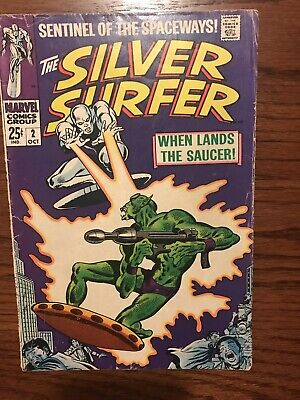 Silver Surfer #2 Silver Age 1st Badoon. Beautiful Book
