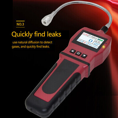 Portable Combustible Gas Detector Methane natural Gas Leak Analyzer Tester 1