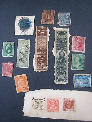Antique lot of 19th Century Stamps...USA...used