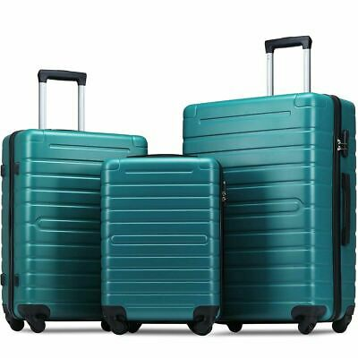 "3 Piece  Luggage Sets Hardside Spinner Light weight  20"" 24"" 28"""