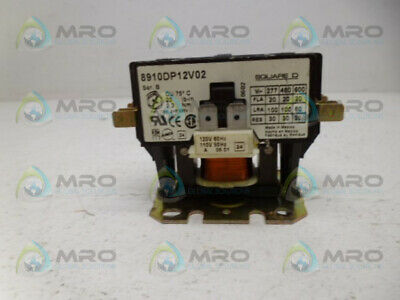 Square D 8910Dp12V02 Contactor *Used*